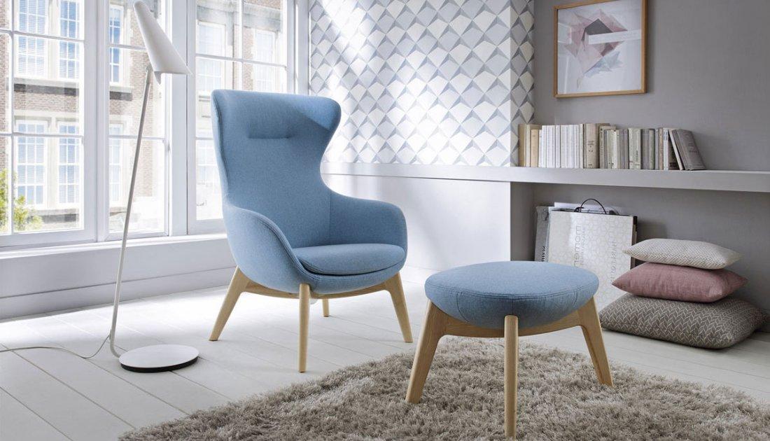 Fotel Vogue zpodnóżkiem - Aris Concept
